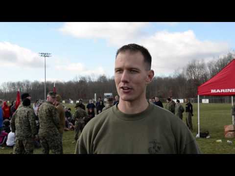 Marine Corps tests recruits in Beckley, W.V.