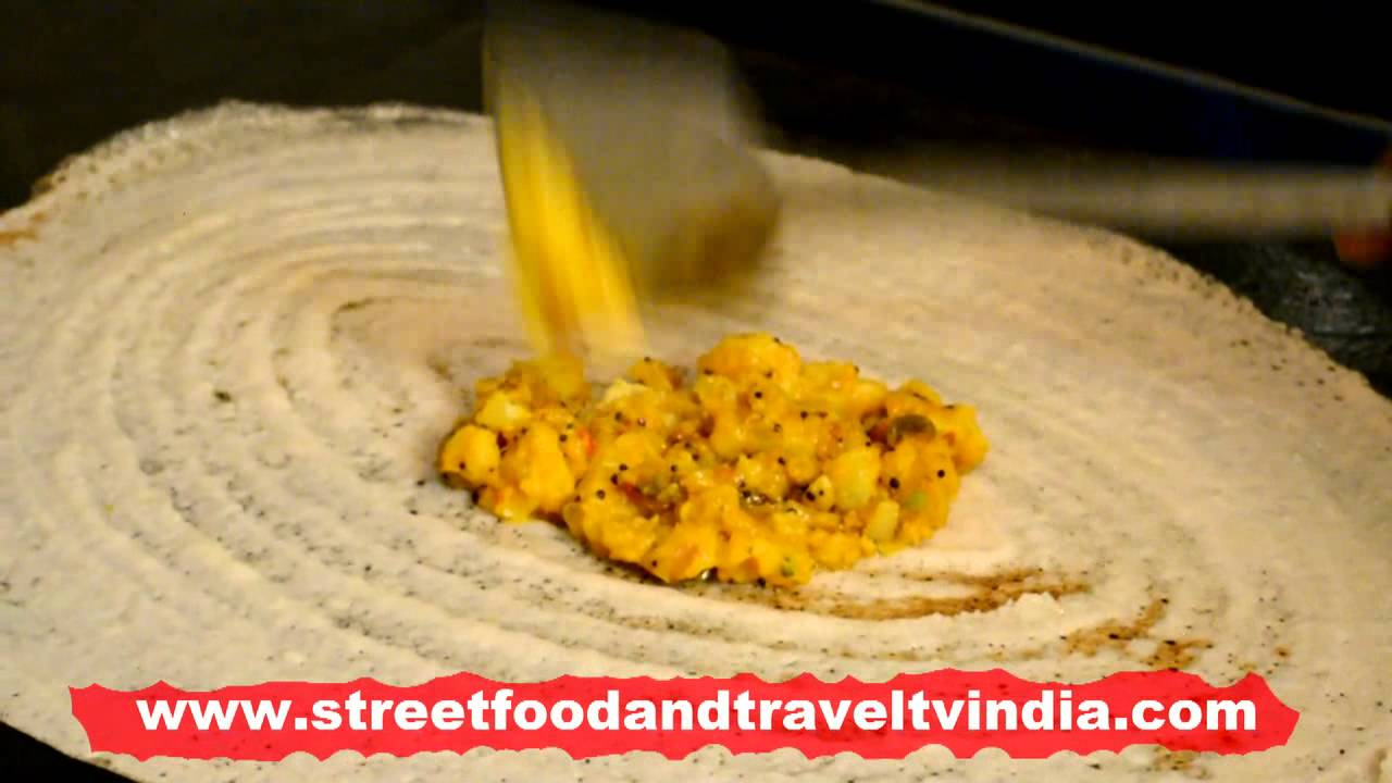Dosa making cooking south indian food by street food travel tv dosa making cooking south indian food by street food travel tv india youtube forumfinder Choice Image
