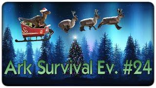 Ark Survival Evolved | La notte del Babbo Natale Raptor - ep. 24 [ITA]