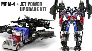 Transformers MasterPiece MPM-4 Optimus Prime Custom KO Jet Power Upgrade kit Vehicle Robo ...