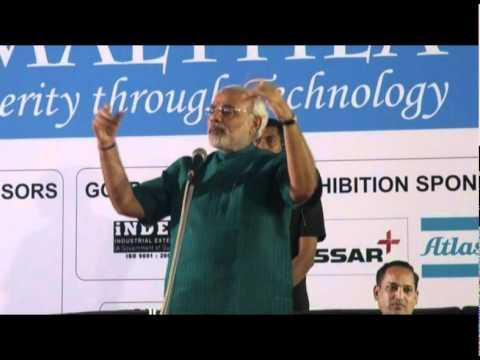 Amalthea 2011: Shri Narendra Modi at IIT Gandhinagar