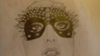 Drawing Gaga ( Music: Lady Gaga- Bad romance-The fame monster)