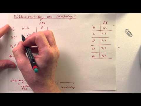 Elektronenpaarbindung oder Ionenbindung