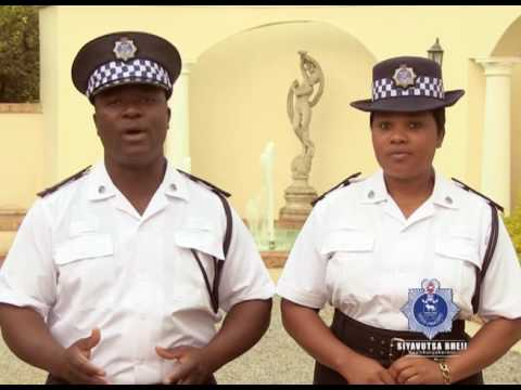 Royal Swaziland Police Service Emaphoyisa Nesive (crime prevention) strategy