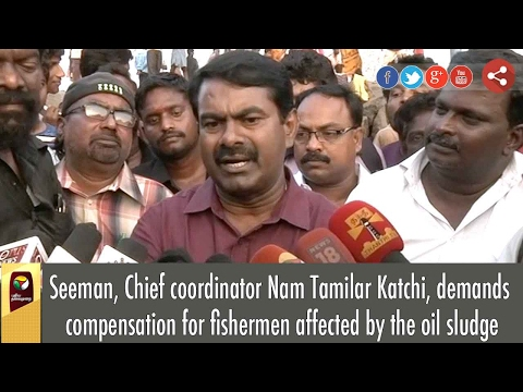 NTK Seeman Demands Compensation for fishermen Affected by Oil Spill