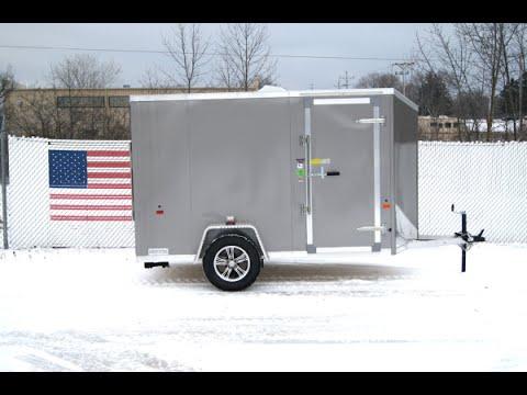 Amera-Lite ATTX All Aluminum Enclosed Trailer