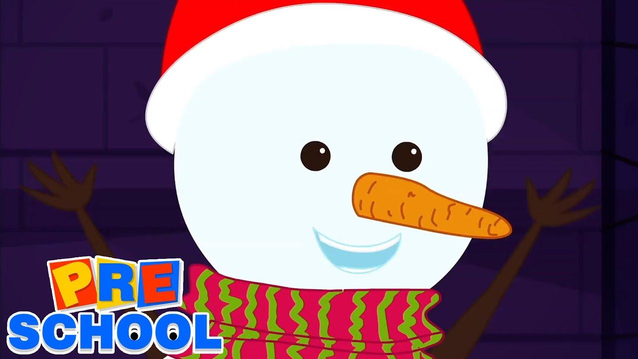 Christmas Snowman | Christmas Carols | Nursery Rhymes and Kids Songs | Merry Christmas
