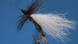Beginner Fly Tying a Royal Coachman Madam X with Jim Misiura
