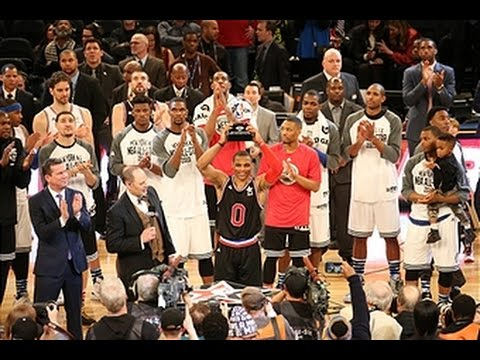 Russell Westbrook Named All-Star MVP with 41-Point Performance