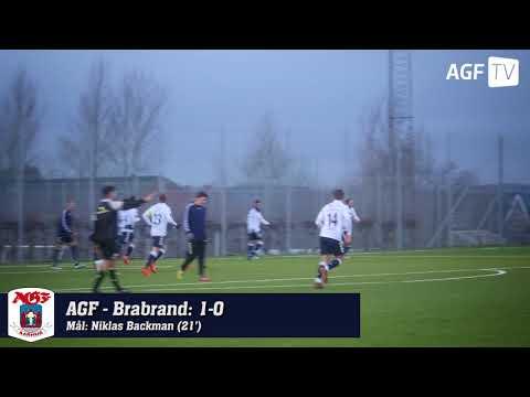 Se mål og chancer fra 2-0 sejren over Brabrand