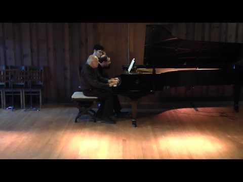 Jonathan Yates and Gilbert Kalish–Schubert: Fantasia in f minor, D 940