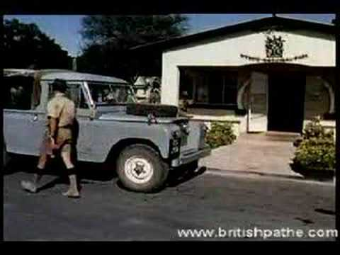 British Pathe News on Rhodesia