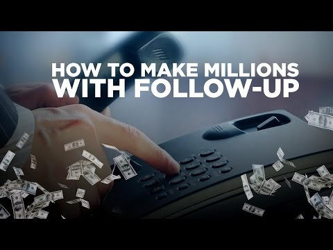 How to Make Millions with Follow-Up - Young Hustlers Live @12PM