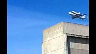 Space Shuttle Crashes into Hanger 1