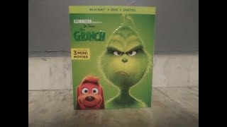 The Grinch Blu-Ray+DVD+Digital Unboxing.