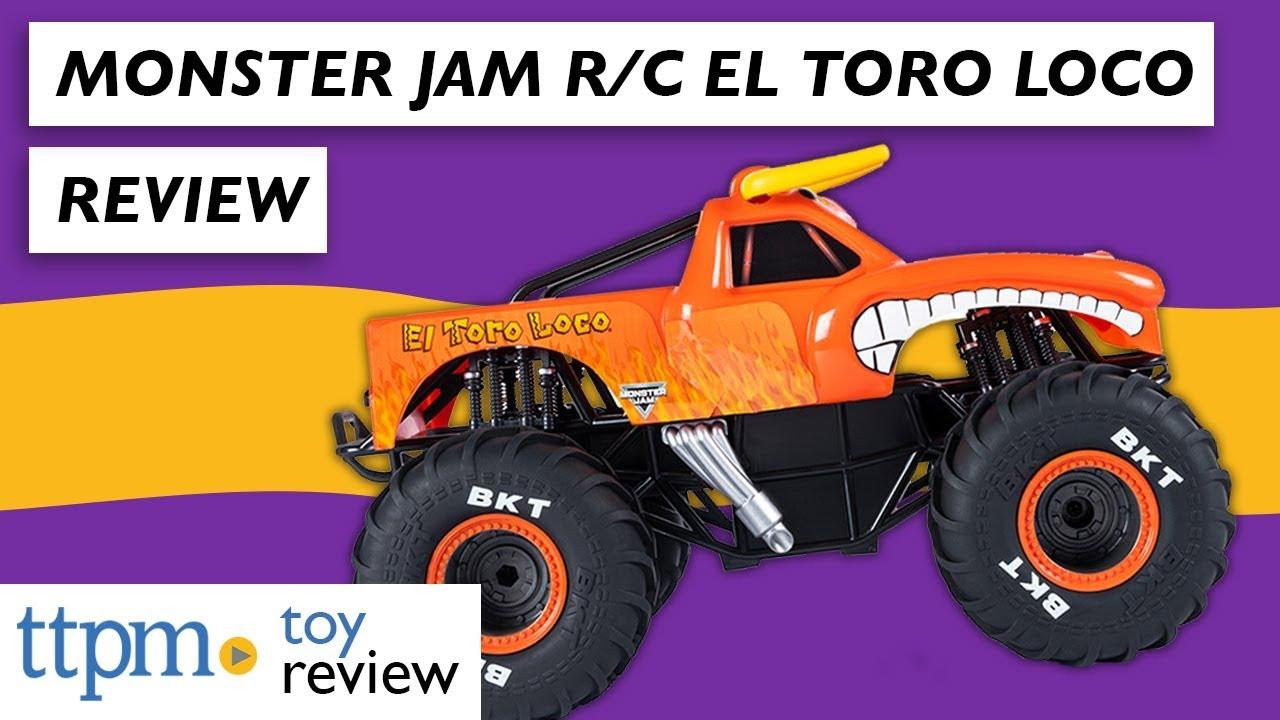 Monster Jam R C El Toro Loco From Spin Master Youtube
