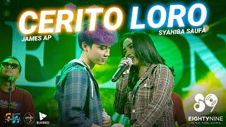 Syahiba Saufa feat. James AP - Cerito Loro (Official Music Video) | Ati Iki Dudu Dolanan