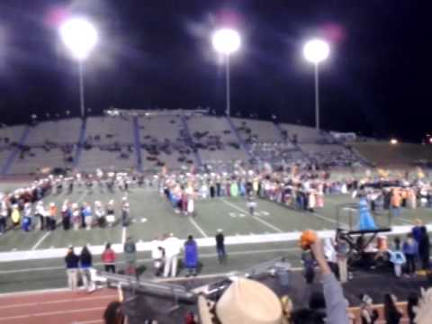 CHS Fight Song- CHS Band W/Lil Bobcats-10/31/14