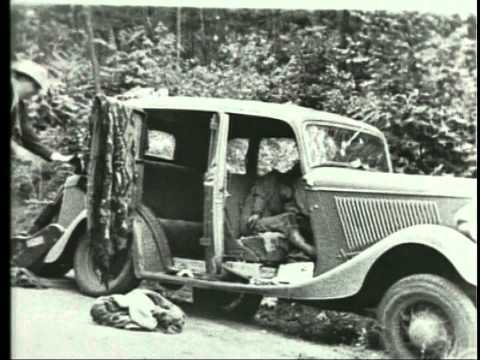 Bonnie And Clyde Ambush Re Enactment Youtube