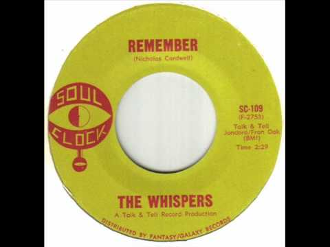 The Whispers - Remember.wmv