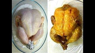 """Целая """"Курица в духовке"""" Супер вкусная! Готовим дома курица без возни"""