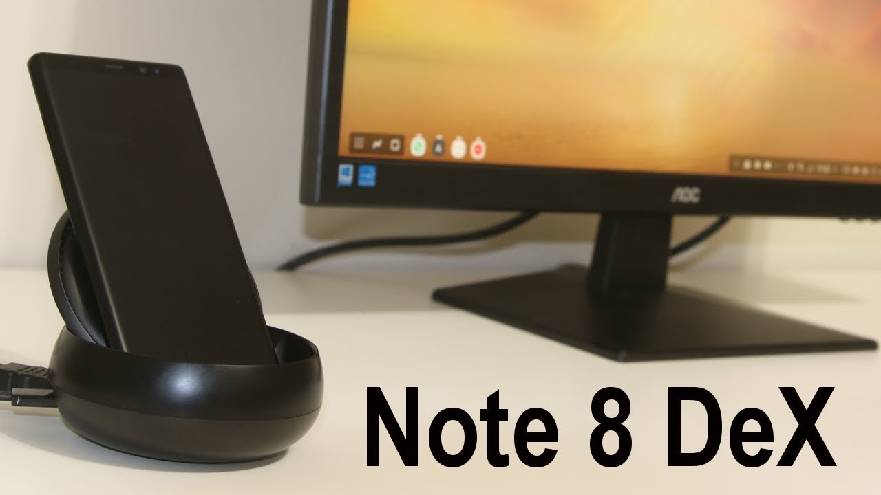on sale 90f76 61449 Samsung DeX Station Dock for Galaxy Note 8 - Must Have Accessory.