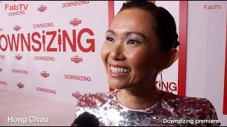 Hong Chau at the Downsizing premiere