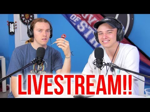 Wyatt and Austin Live Stream Q&A!!! │ The Vault Pro Scooters