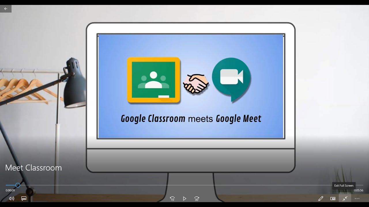 Google Classroom meets Google Meet - YouTube