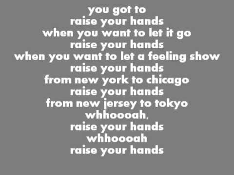 bon jovi rasie your hands lyrics.wmv