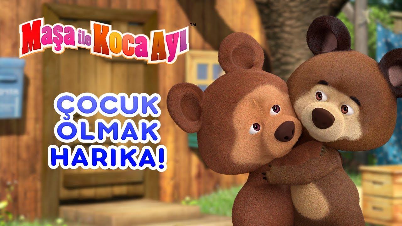 Download Maşa İle Koca Ayı - 👶 Çocuk olmak harika! 🧸🍼 Bölüm koleksiyonu 🎬 Masha and the Bear Turkey