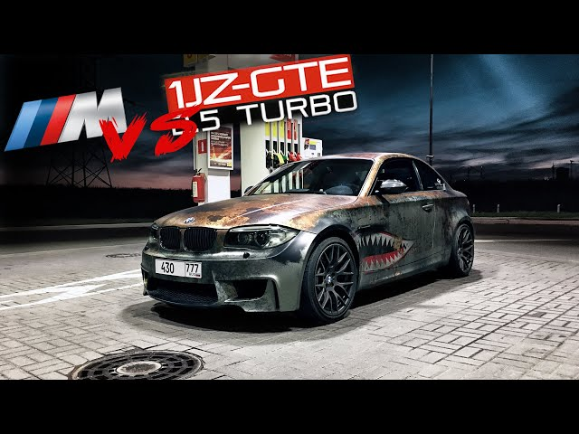 Гонка BMW 1M vs BMW 1JZ GTE. Проблемы с мотором.