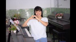 Hướng Dẫn Học Đàn Piano Cơ Bản - Bài 1- Upponia.Com - Tuhocpiano.Com