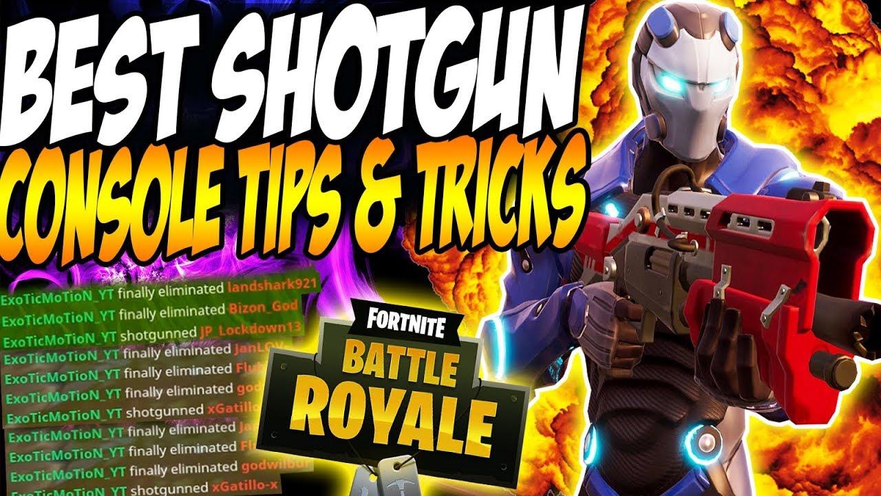 best fortnite console tips for shotguns ps4 xbox season 4 best tips - fortnite shooting tips console