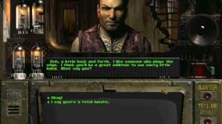 Fallout 1 - Conversation with Loxley