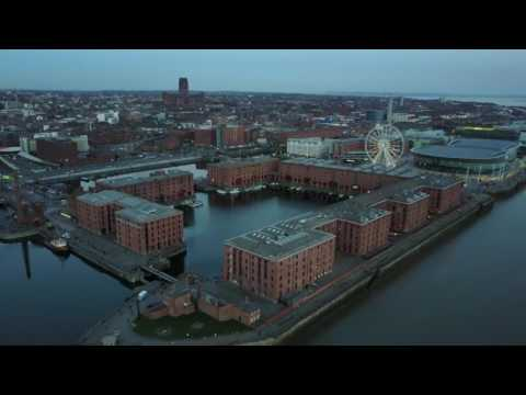 Liverpool waterfront - DJI Mavic Pro