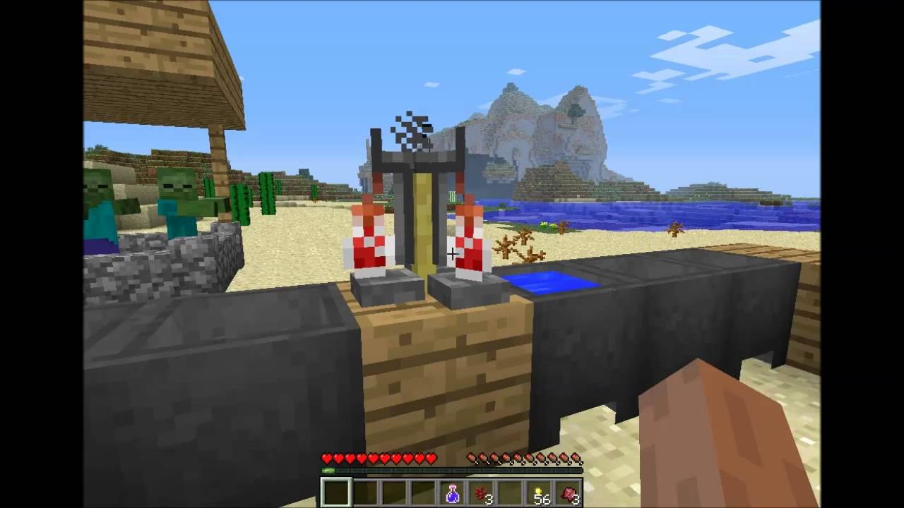 potion minecraft how to make