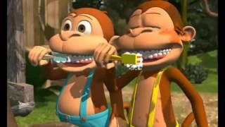 çocuklar için diş fırçalama eğitimi