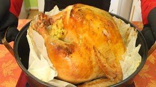 Parchment Paper Turkey - Thanksgiving