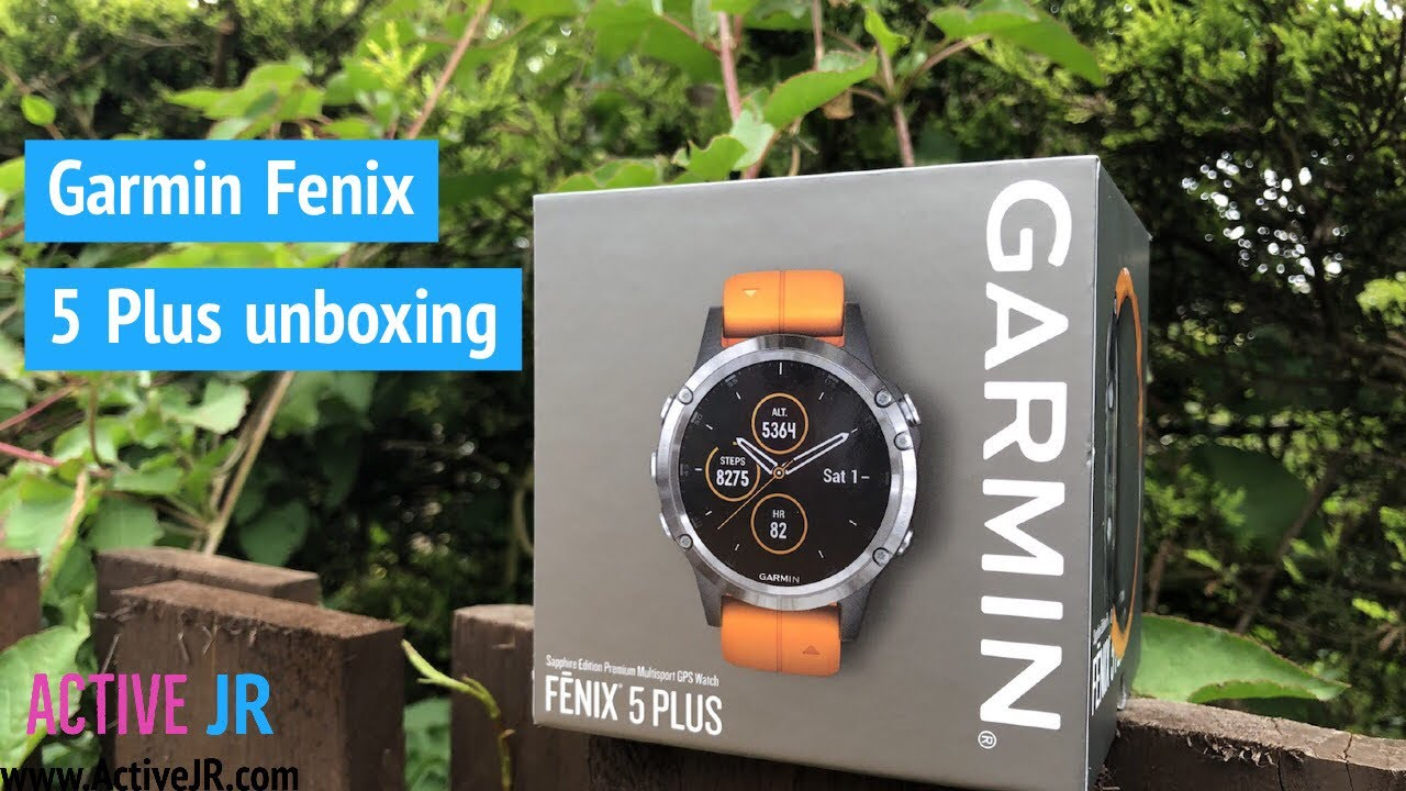 Garmin Fenix 5 Plus Titanium Sapphire Unboxing Design Overview