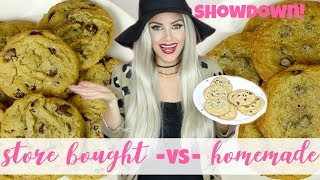 Best Chocolate Chip Cookie Showdown: Scratch vs. Dough vs. Store Bought // Lindsay Ann