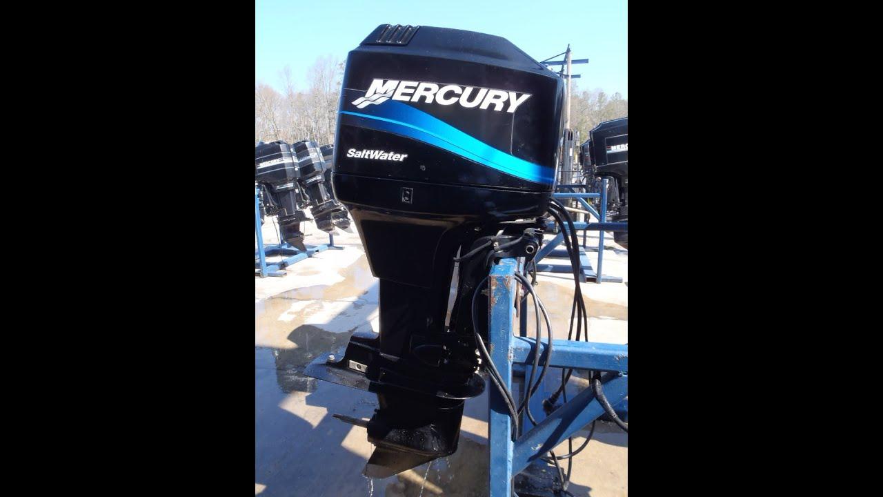 0t813044 used 2004 mercury marine 90elpto saltwater 90hp for Mercury 90 hp outboard motor