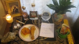 How to Setup and Build an Ancestor Altar, Give Offerings, Prayers and Burn Ancestor Money