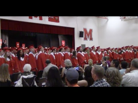 Medway High School Commencement: June 15, 2017