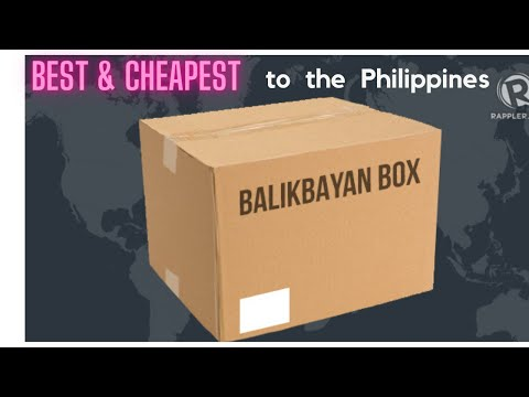 THE BEST & CHEAPEST WAY TO SHIP TO THE PHILIPPINES - Shipping to the Philippines with BalikBayan