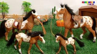 Juguetes de Caballos🐴  para niños - Family Horse Toy for kids - Mimonona Stories