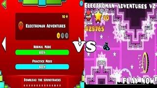Repeat youtube video Electroman Adventure v1 VS v2