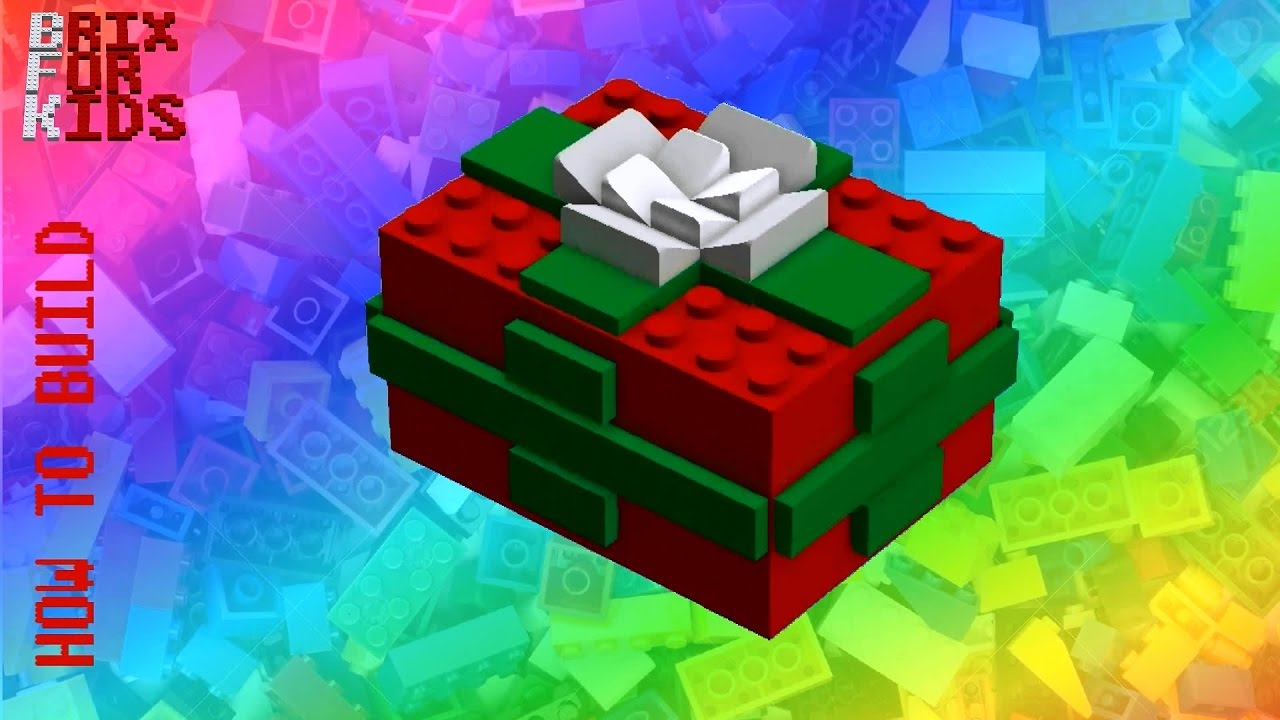 LEGO Instructions - How to build a LEGO Christmas Gift Box ...