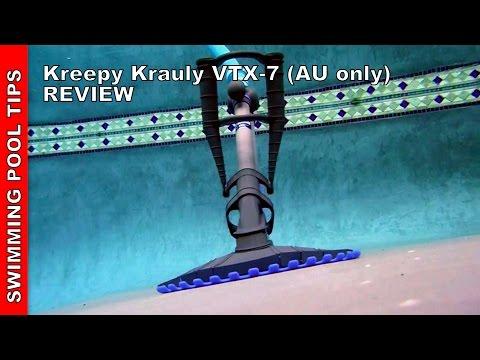Kreepy Krauly VTX-7 Suction Side cleaner Review - Australia Only