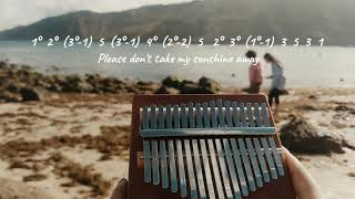 YOU ARE MY SUNSHINE -  KALIMBA COVER | With Tabs & Lyrics